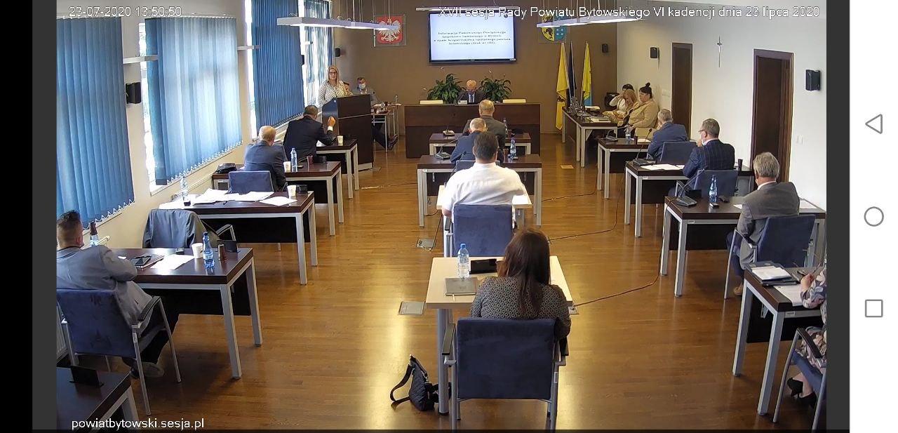 Radni powiatu bytowskiego dyskutowali o sytuacji związanej z koronawirusem