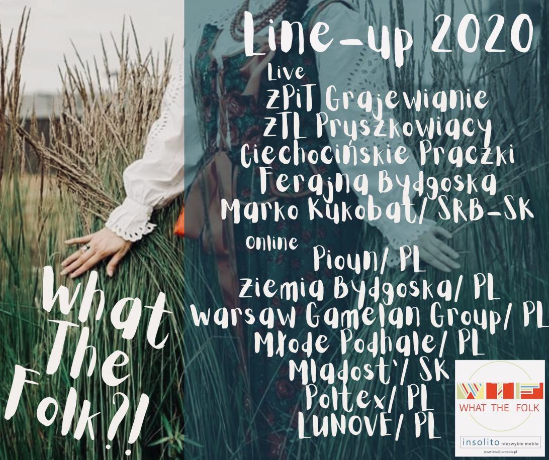 W piątek 31.07 rusza What The Folk?! Zupełnie nowy Festiwal Folkloru