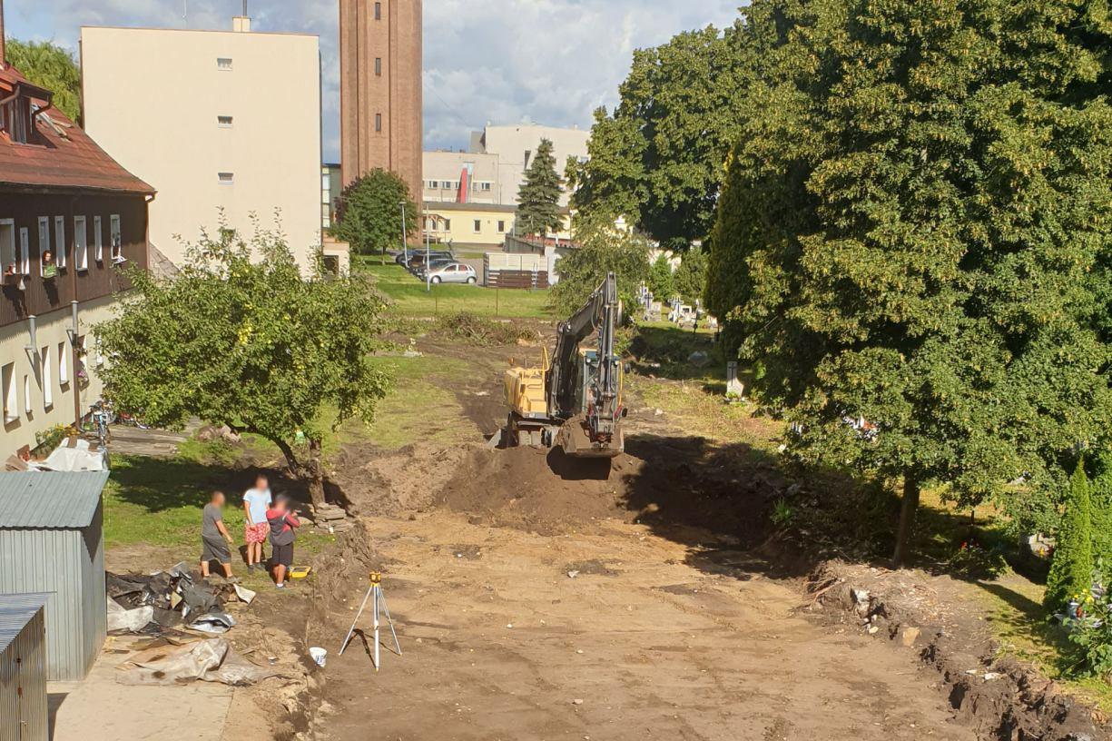 Ruszyła budowa nowego parkingu przy Miejskim Domu Kultury w Człuchowie