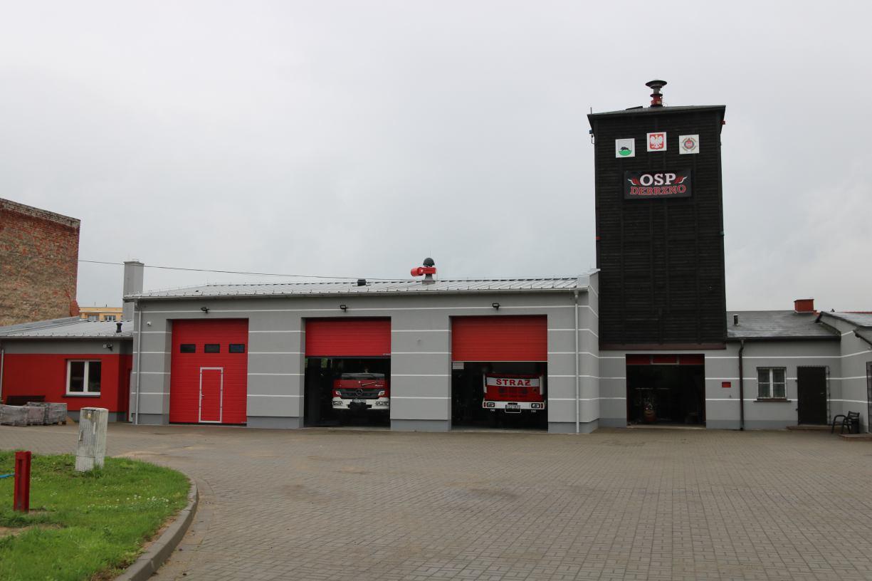 Remiza Ochotniczej Straży Pożarnej w Debrznie jest jak nowa. Zakończył się remont
