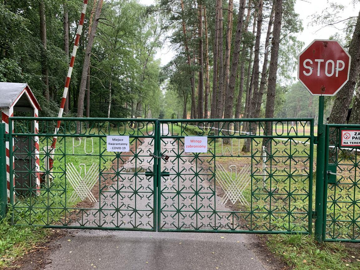 Powiatowe Centrum Młodzieży w Garczynie koło Kościerzyny stało się miejscem zbiorowej kwarantanny
