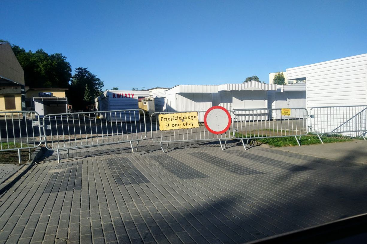 Zmiana organizacji ruchu w rejonie targowiska miejskiego przy ul. Młodzieżowej w Chojnicach
