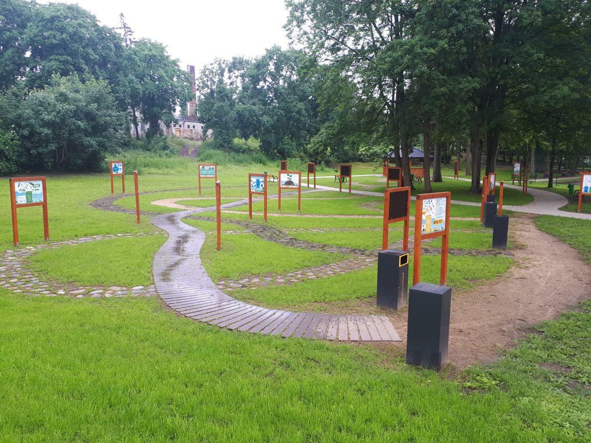W Lubaniu, w gminie Nowa Karczma, powstał park ekologiczny