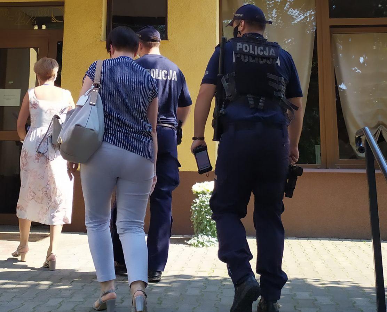 Wspólne kontrole policji i sanepidu w powiecie sępoleńskim FOTO