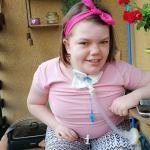 Więcbork:  | Chora 12-letnia Amelka z Więcborka apeluje o pomoc w zakupie nowego mieszkania dostosowanego do jej potrzeb