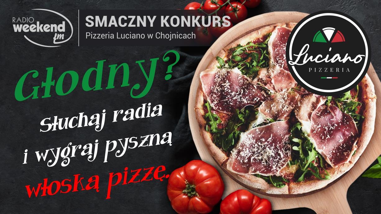 Głodny? Wygraj pyszną pizzę! Smaczny konkurs w Weekend FM