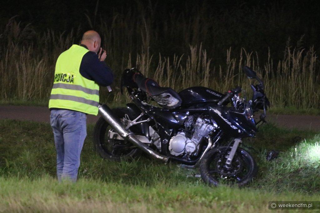 Motocykl zderzył się z samochodem w Człuchowie. Poważnie ranny 19-letni motocyklista FOTO, AKTUALIZACJA