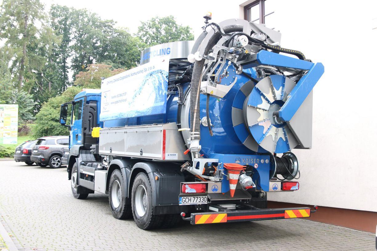 Nie wrzucajcie do muszli klozetowej śmieci - apelują pracownicy Gminnego Zakładu Gospodarki Komunalnej w Chojnicach