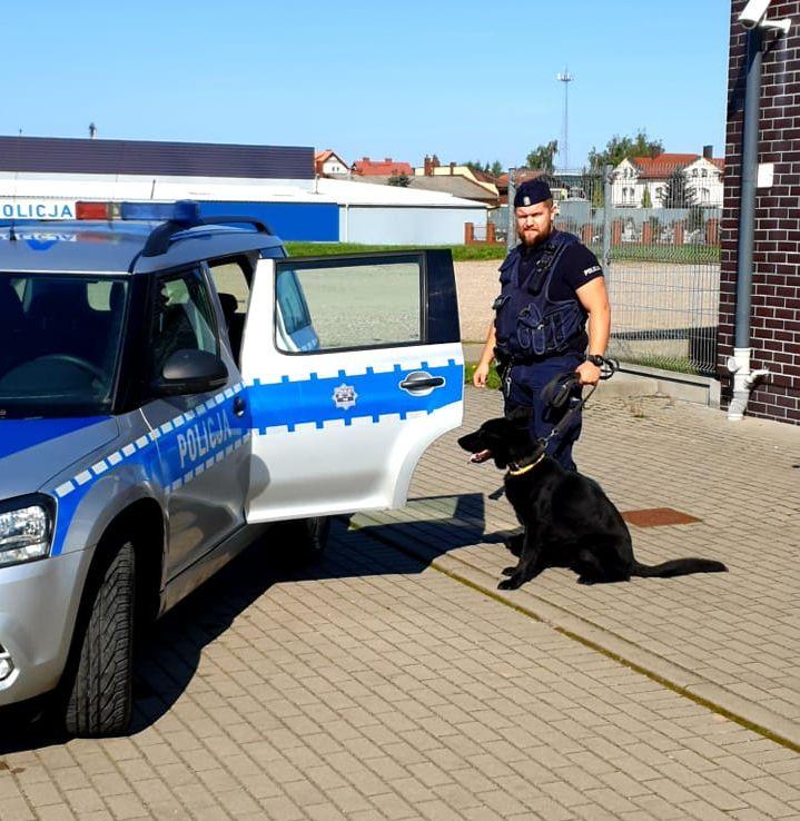 Policjant po służbie zatrzymał kompletnie pijanego motorowerzystę. Do zdarzenia doszło w Brusach