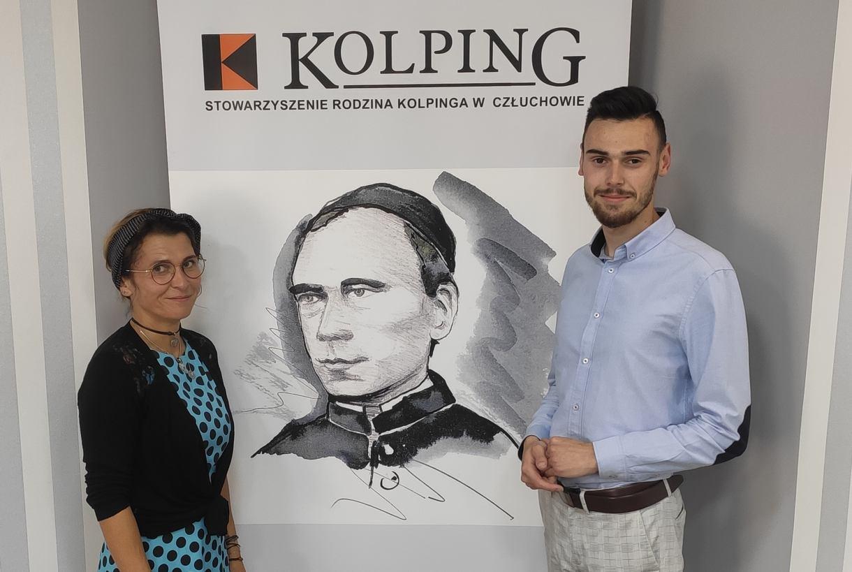 Rodzina Kolpinga z Człuchowa wciąż dba o seniorów. Młodzi wolontariusze pomagają zagrożonym w czasie pandemii