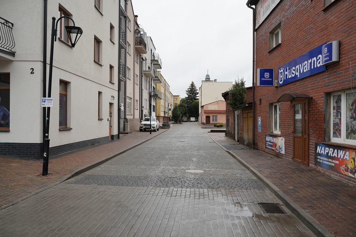 Ulica Stajenna w Człuchowie już po remoncie. Zakończył się jej trzeci etap