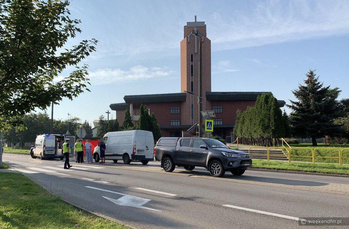 Śmiertelne potrącenie w Chojnicach. Nie żyje 75-letnia kobieta