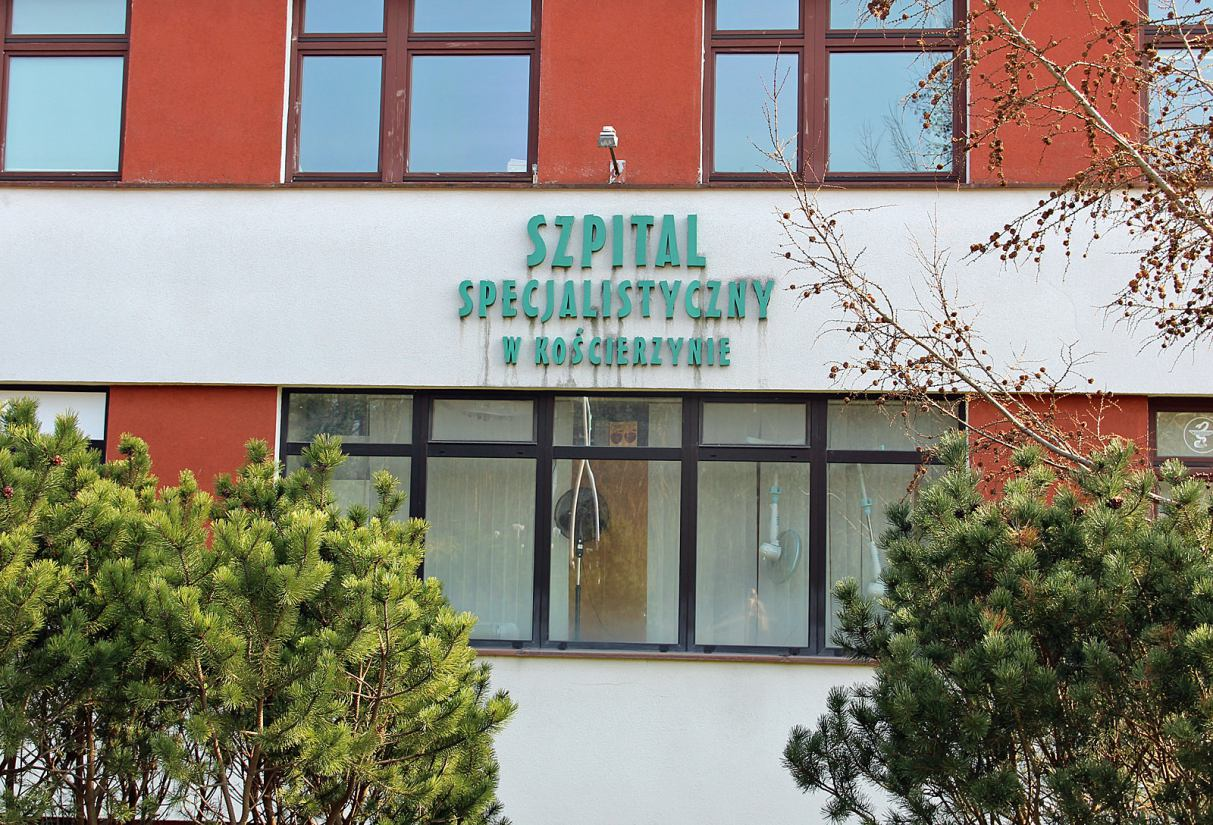 Oddział położniczy i patologii ciąży w Szpitalu Specjalistycznym w Kościerzynie tymczasowo zamknięty