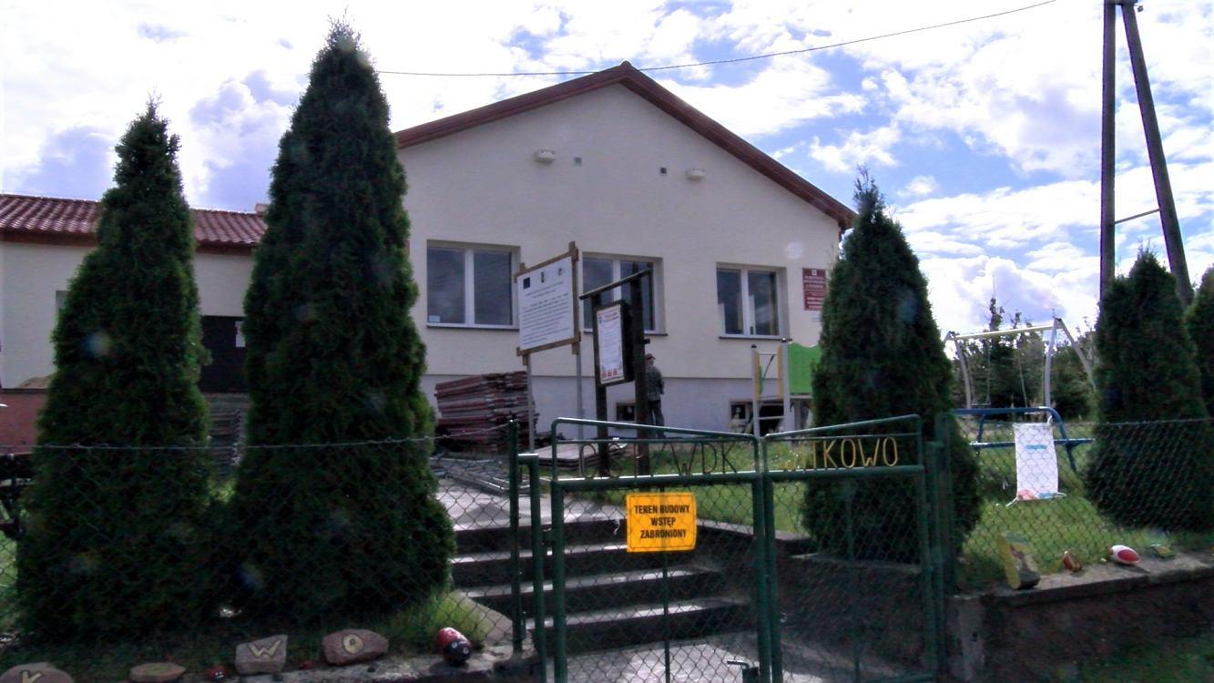 Kończy się powoli remont świetlicy wiejskiej w Witkowie w gminie Kamień Krajeński
