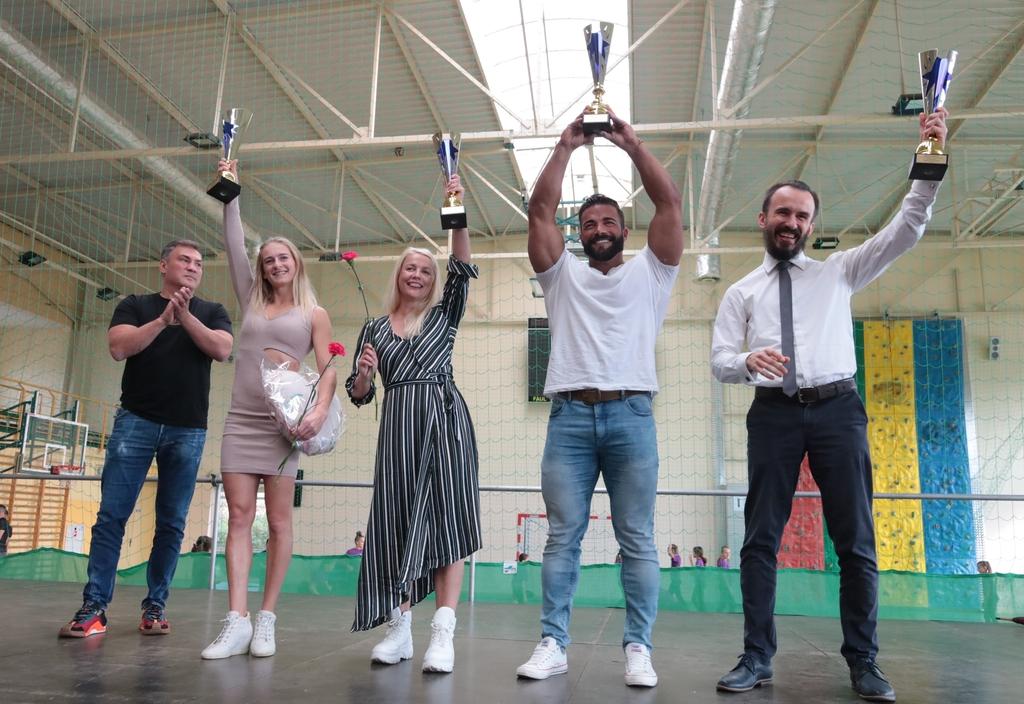 Gimnastyczka, kickbokserka, kulturysta i karateka docenieni podczas Człuchowskiej Gali Sportu FOTO