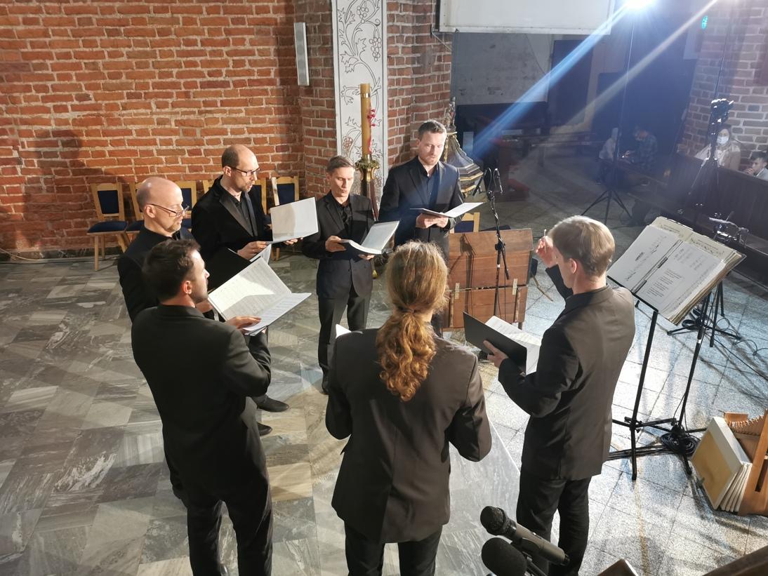 I w gotyku, i w baroku. Koncert w wykonaniu zespołu wokalnego Jerycho pod dyrekcją Bartosza Izbickiego FOTO, WIDEO