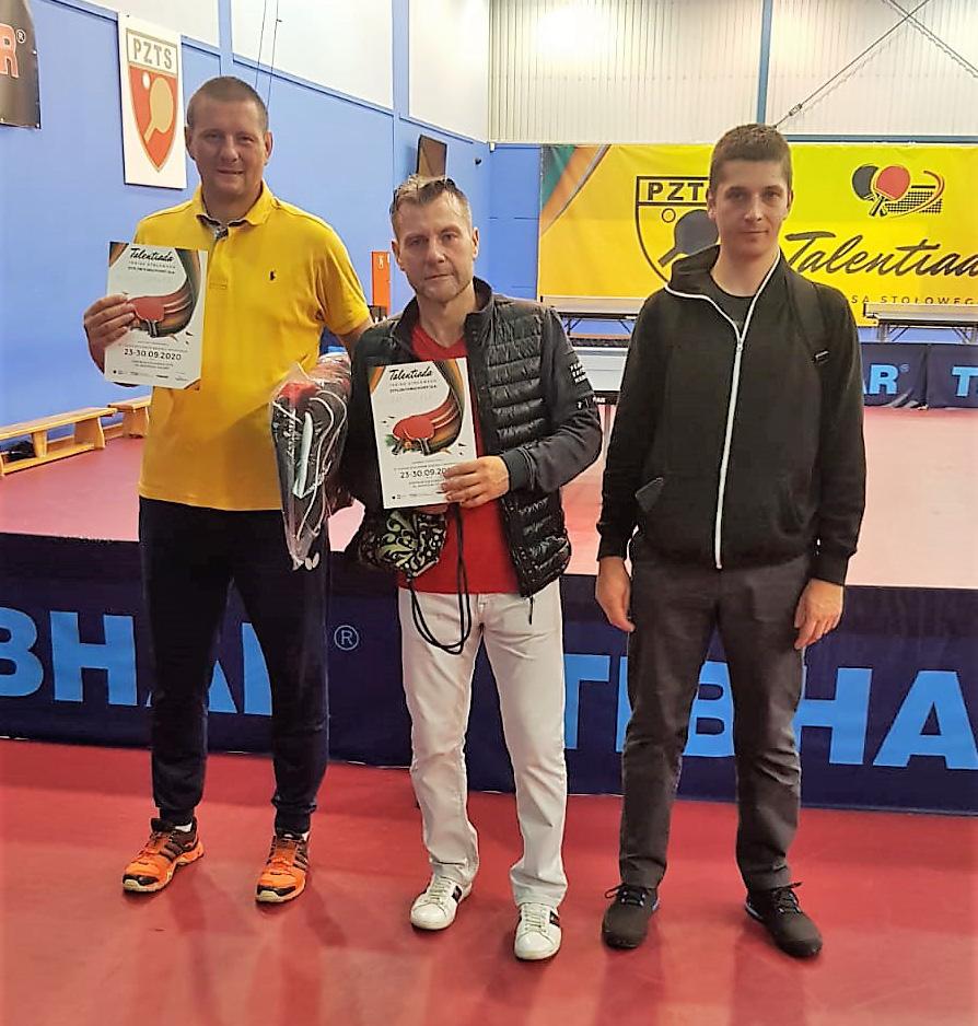 Michał Brieger z UKS Ósemka Chojnice zwycięzcą turnieju Open Polskiego Związku Tenisa Stołowego w Gdańsku