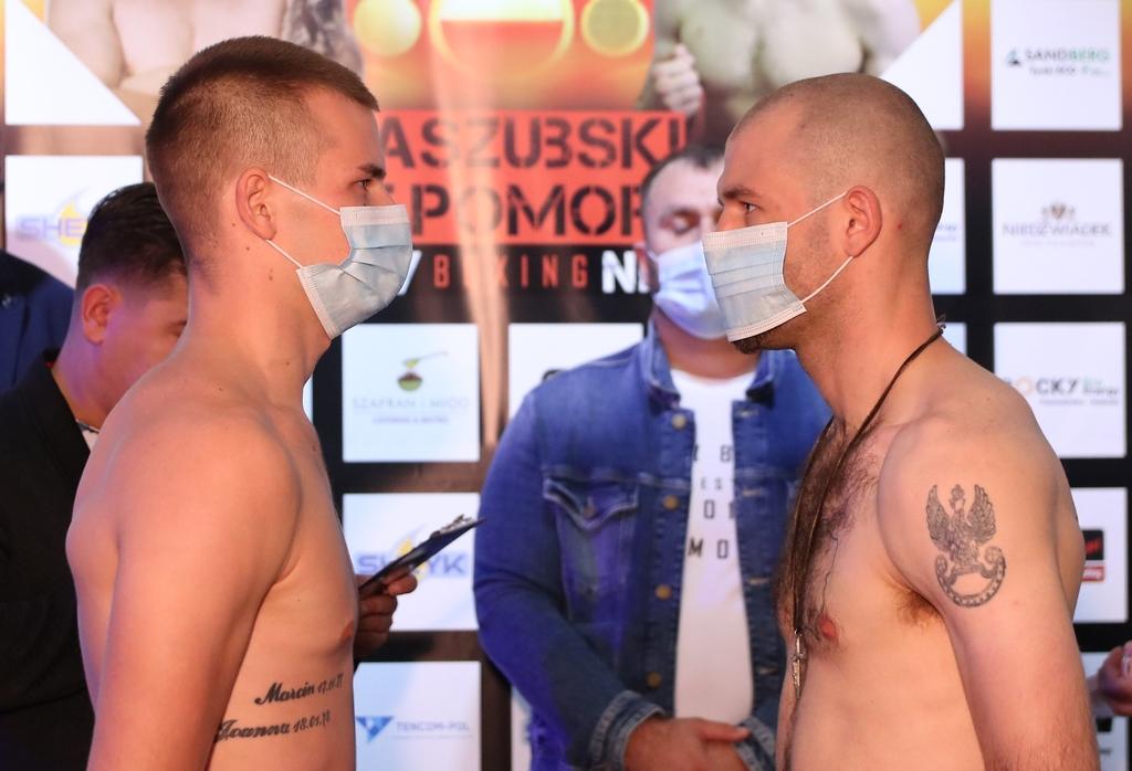 Czterej pięściarze z regionu w dobrej formie i limicie wagowym przed galą Kaszubski Gryf Pomorski - Rocky Boxing Night FOTO