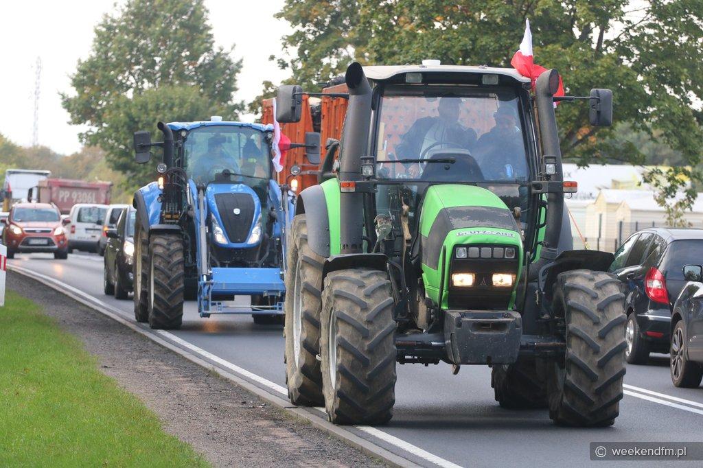 Rolnicy z regionu ponownie wyjadą dziś na ulice Chojnic