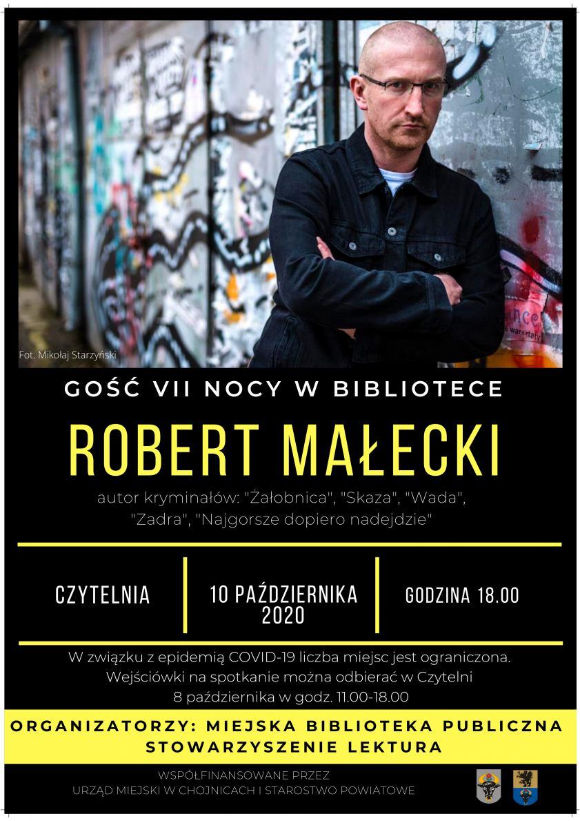 VII Noc w bibliotece w Chojnicach już w sobotę 10.10, ale w innej niż zwykle formie