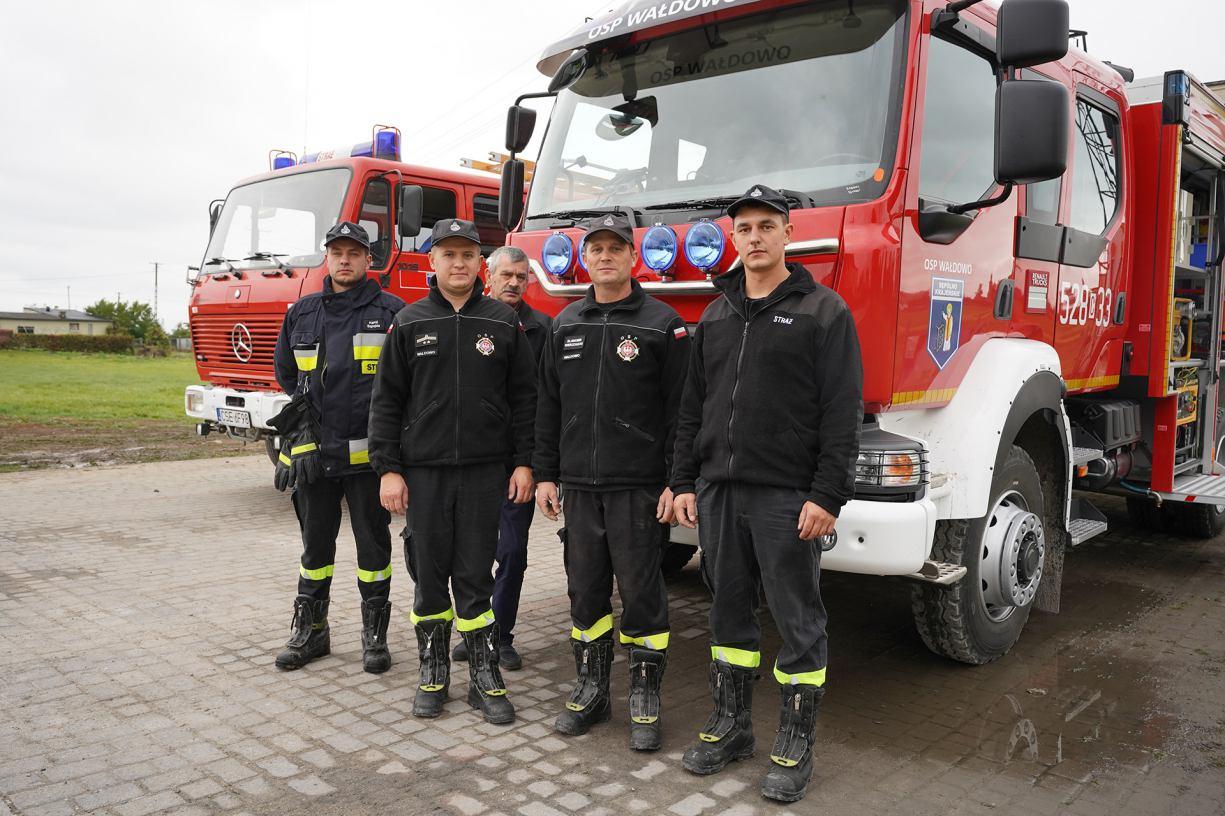 Strażacy z OSP Wałdowo mają nowy wóz bojowy FOTO