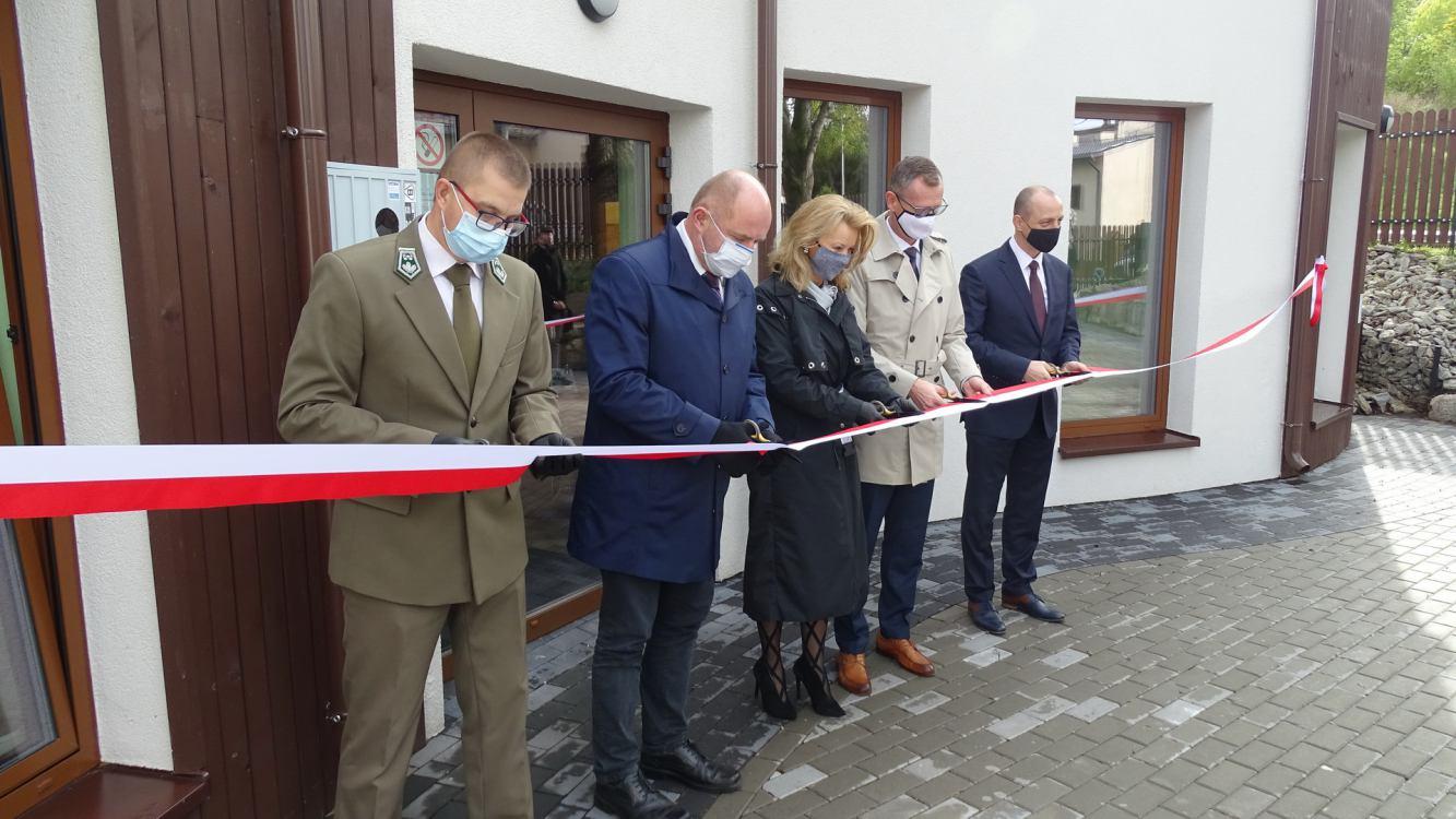 W Więcborku uroczyście otwarto nową siedzibę Krajeńskiego Parku Krajobrazowego FOTO