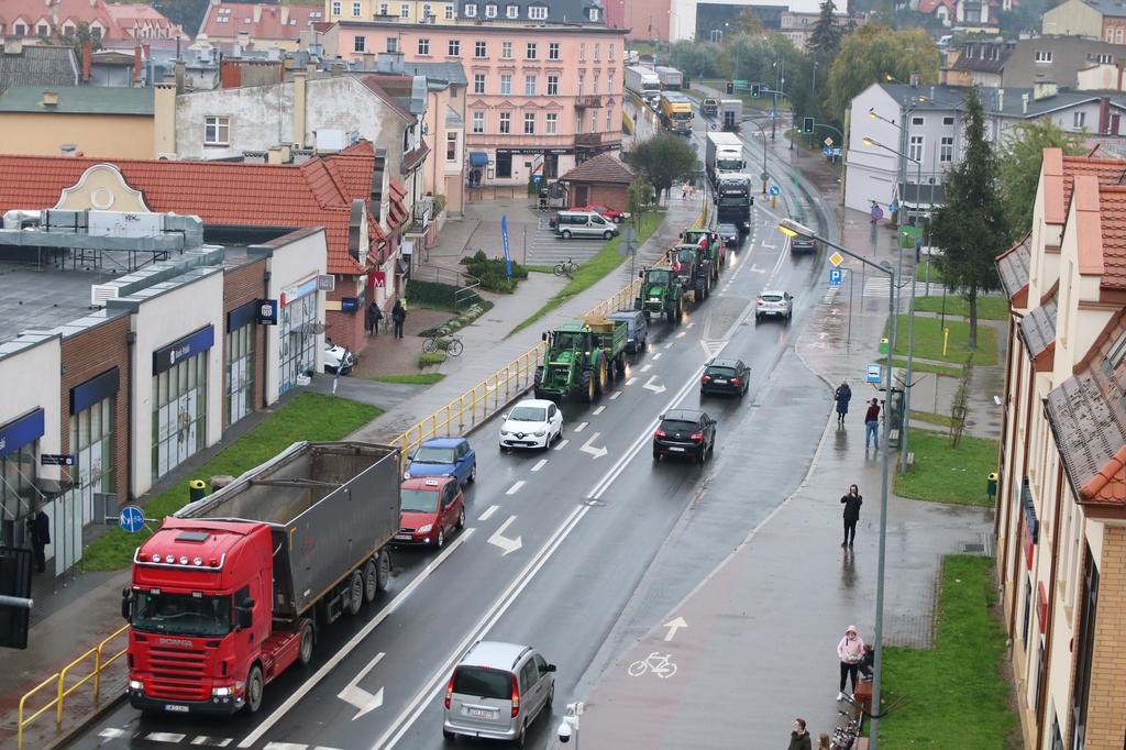 Kilkunastu rolników poniesie konsekwencje protestu w Chojnicach