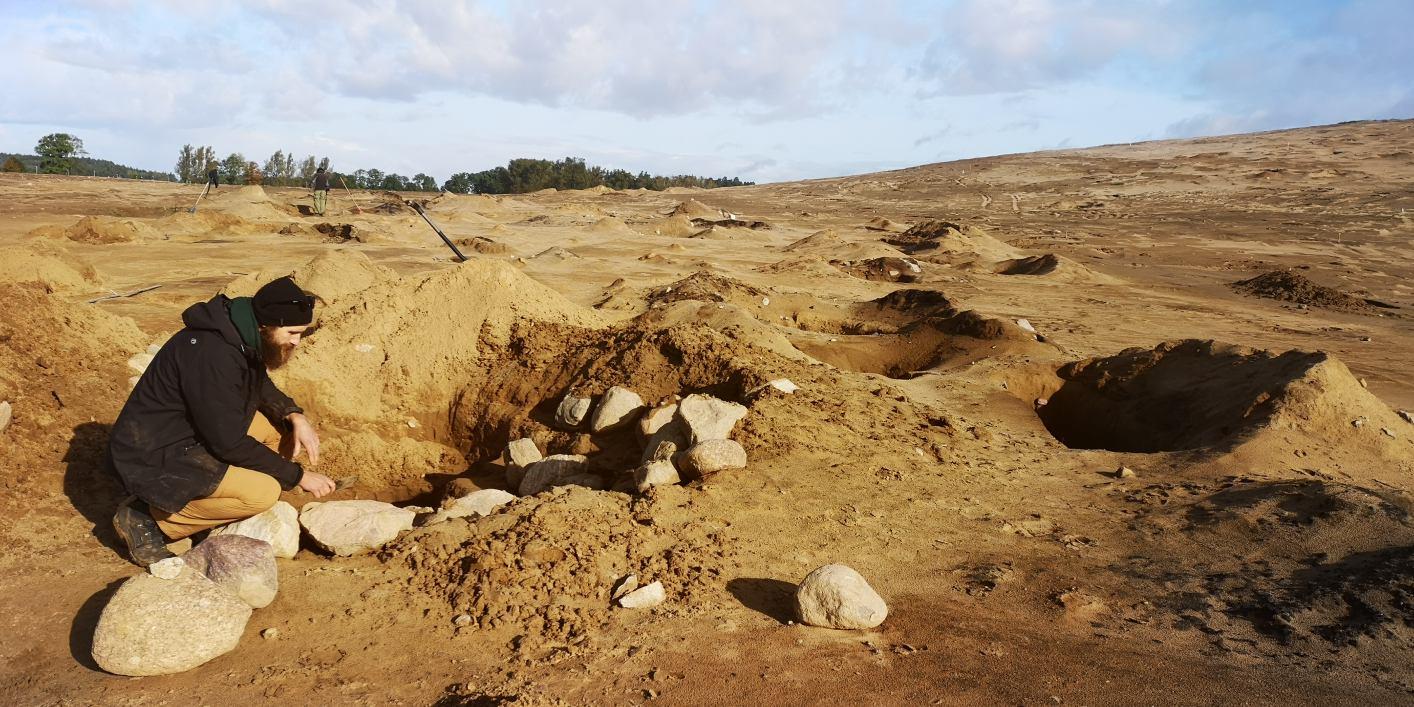 Kilkaset stanowisk od epoki brązu do średniowiecza znaleźli archeolodzy pomiędzy Bytowem a Dąbiem