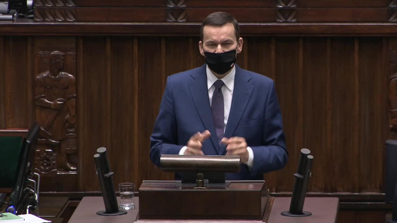 Premier o walce z pandemią Jeśli popełniliśmy jakieś błędy, to się do nich przyznajemy