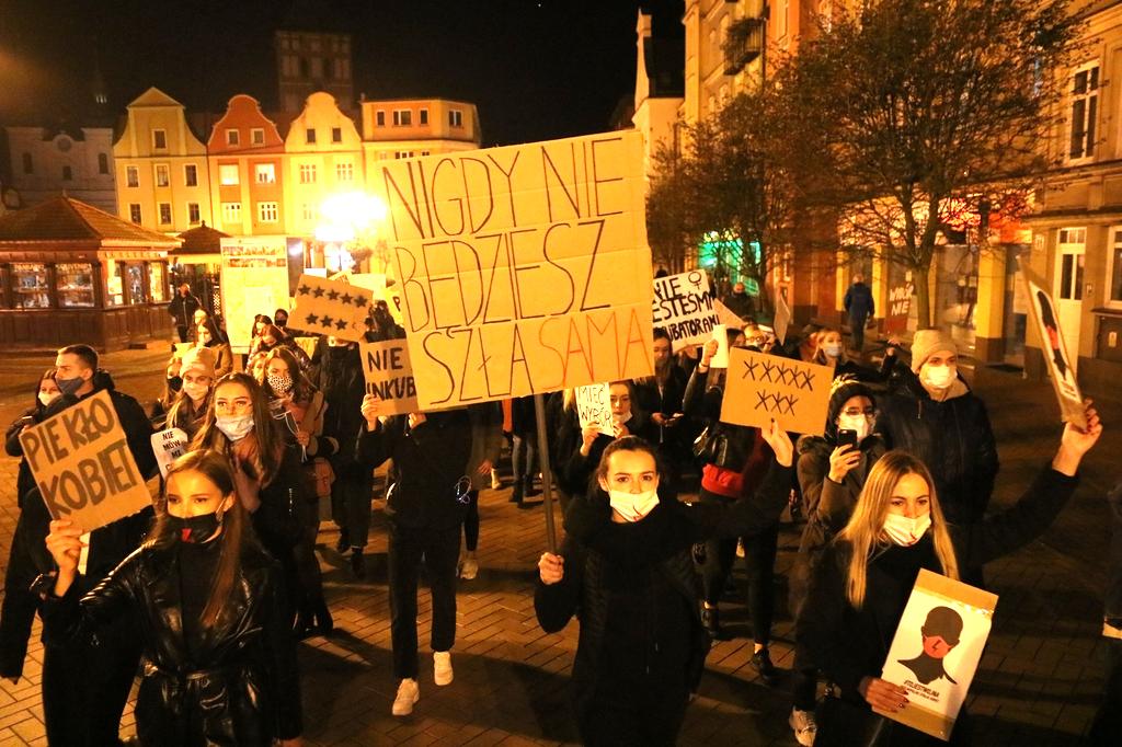 Blokada ulic i chodników. Wiemy, jak będzie przebiegać dzisiejszy protest kobiet w Chojnicach