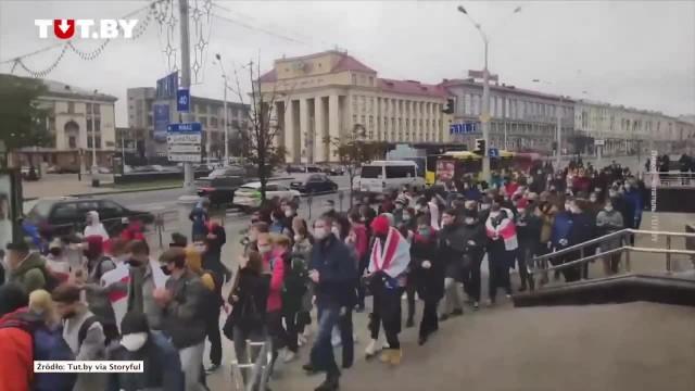 Białorusini rozpoczynają ogólnonarodowy strajk. Minął termin ultimatum dla A. Łukaszenki