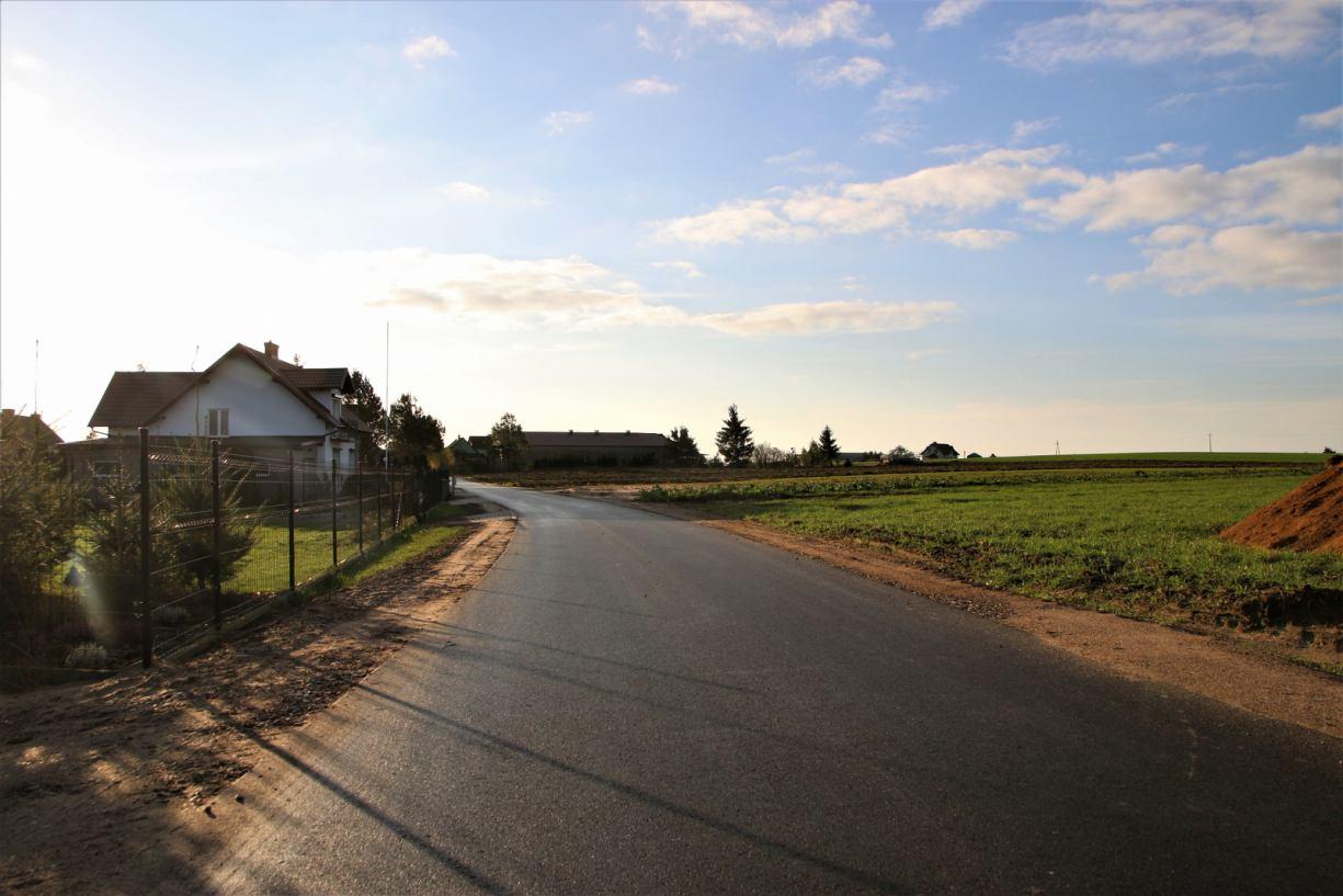 Zakończyła się budowa kolejnego odcinka drogi Brusy-Jaglie - Żabno