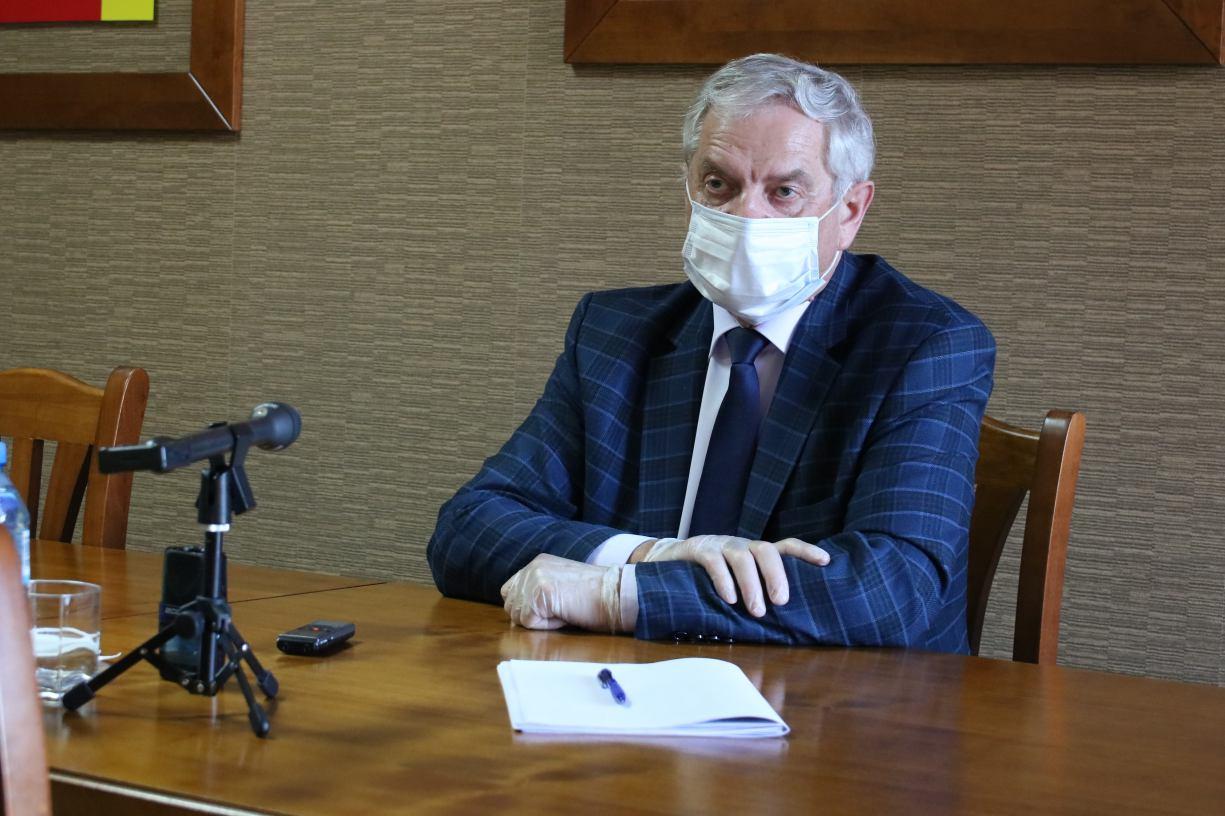 Starosta człuchowski Aleksander Gappa zakażony koronawirusem. Zapewnia, że czuje się dobrze