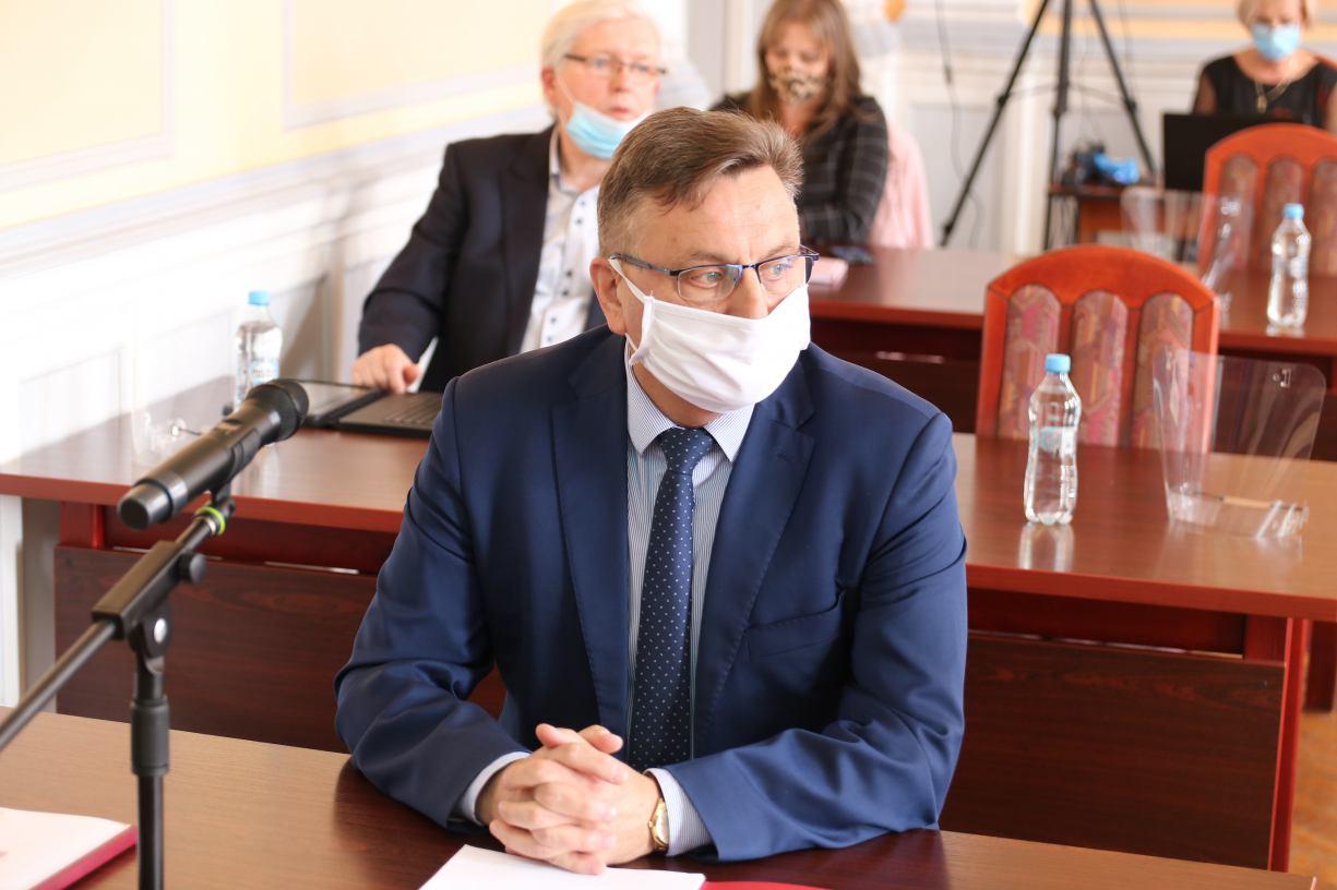 Burmistrz Człuchowa Ryszard Szybajło poddał się samoizolacji domowej
