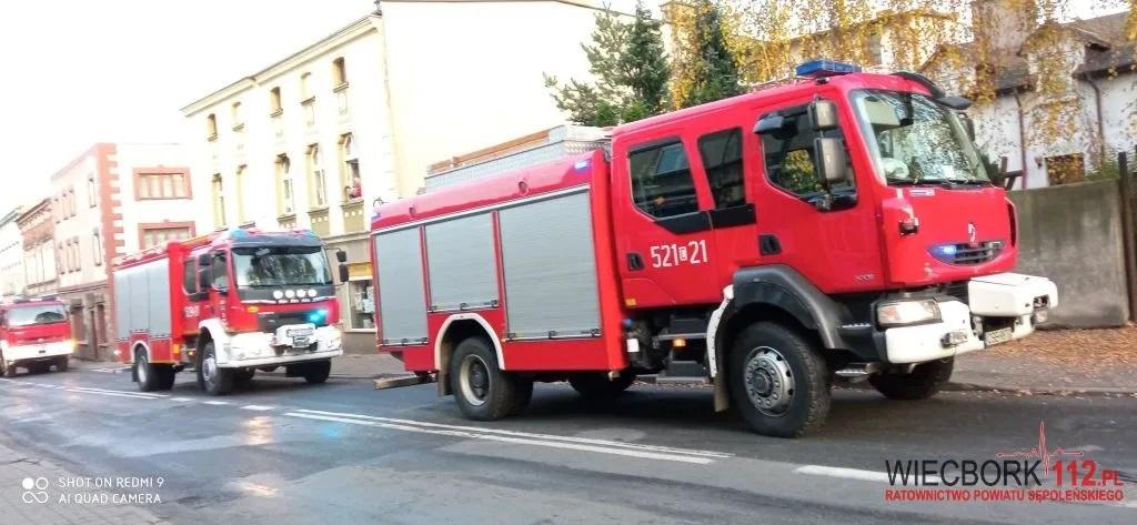 Wybuch butli z gazem w Więcborku. Ewakuowano 11 osób. Uszkodzona została konstrukcja ścian