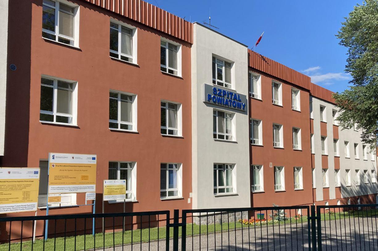 Nadal pusty oddział covidowy w Szpitalu Powiatowym w Więcborku. Brakuje lekarzy