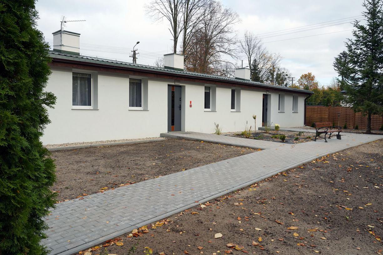 Zakończył się remont dwóch kolejnych pawilonów mieszkalnych przy Centrum Sportu i Rekreacji w Sępólnie Krajeńskim FOTO