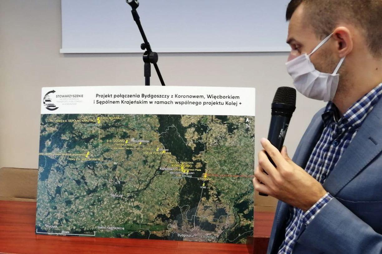 Projekt połączenia kolejowego z Chojnic do Bydgoszczy w drugim etapie programu rządowego Kolej