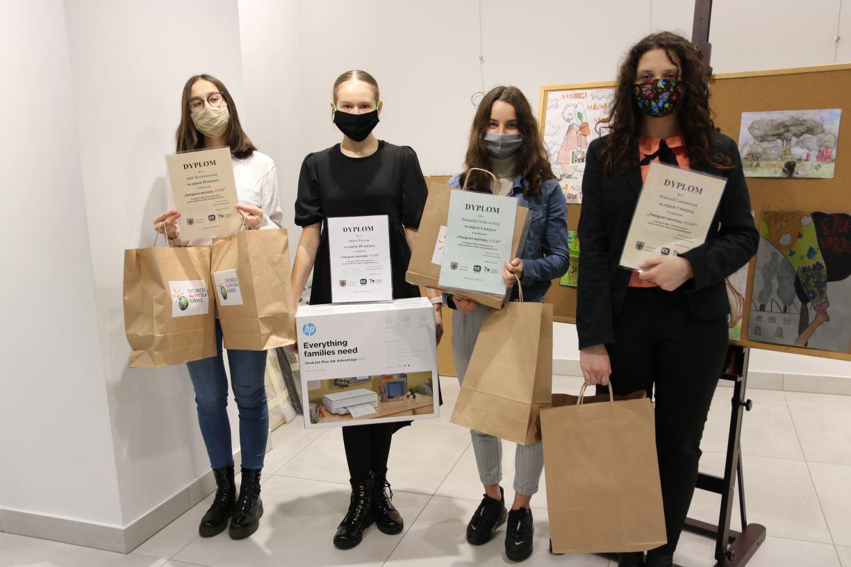 W Chojnickim Centrum Kultury rozdano nagrody za antysmogowe filmiki