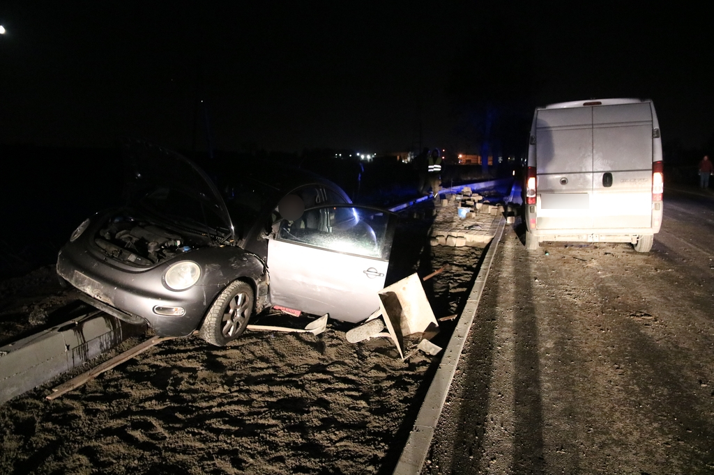Nie żyje jeden z mężczyzn, potrąconych podczas prac drogowych na dawnej berlince koło Chojnic