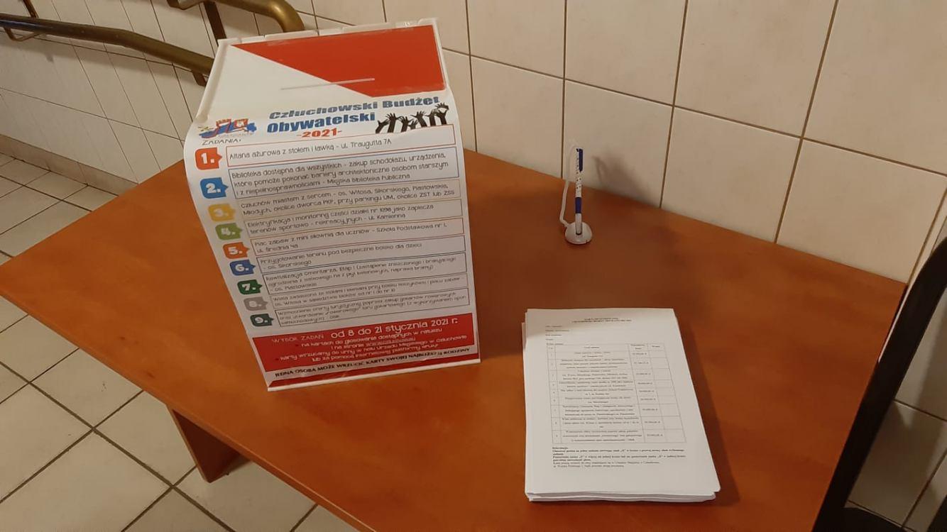W piątek ruszyło głosowanie nad propozycjami do budżetu obywatelskiego miasta Człuchów