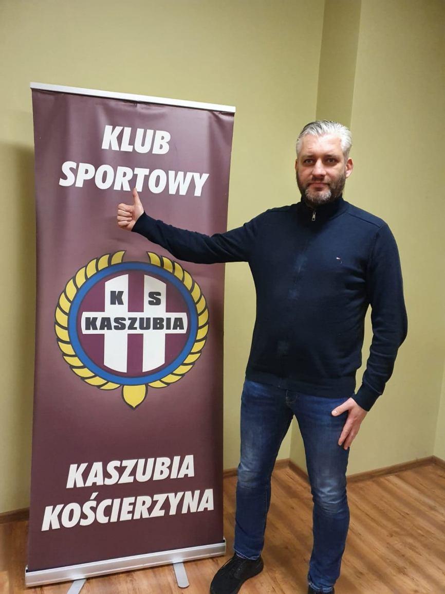 Tomasz Bąkowski nowym trenerem Kaszubii Kościerzyna. Zastąpił Pawła Budziwojskiego