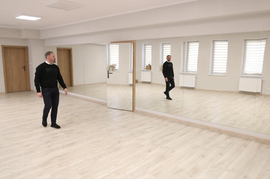 Zupełnie nowe oblicze budynku Miejskiego Domu Kultury w Człuchowie FOTO