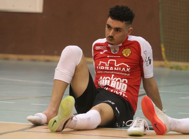 Morad Mallouk odchodzi z Red Devils Chojnice. Jego kontrakt został rozwiązany za porozumieniem stron