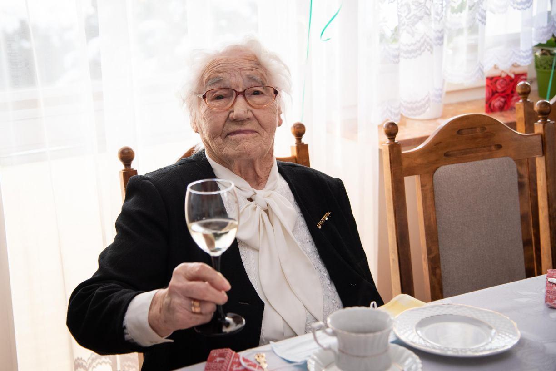 Jedna z najstarszych mieszkanek Czerska, Stefania Kłak, obchodzi w sobotę setne urodziny
