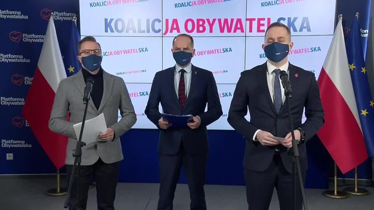 KO pyta premiera, dlaczego Polska zrezygnowała z zakupu 6 mln dawek szczepionki Moderny