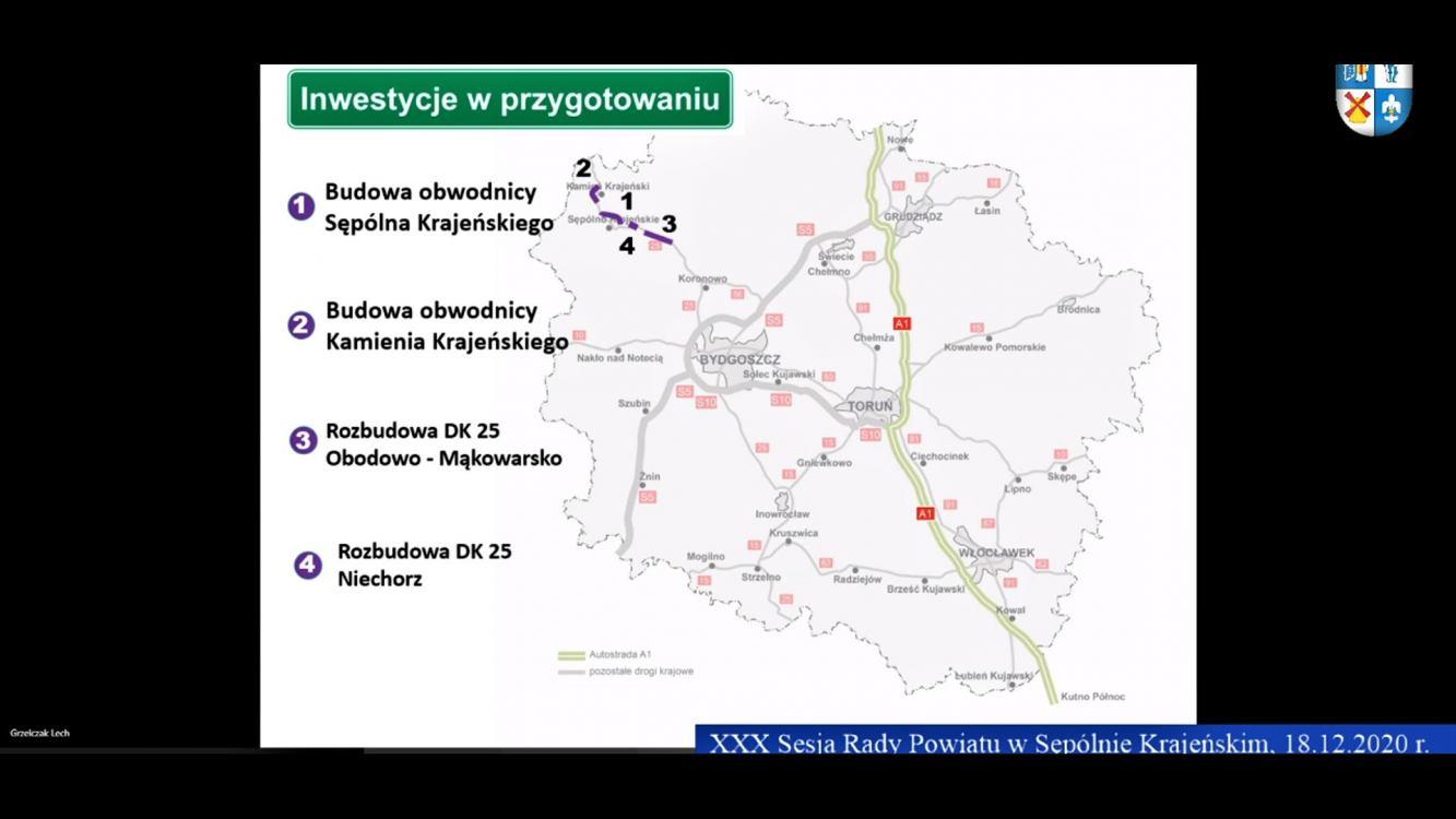 Najwcześniej w przyszłym roku mogą ruszyć prace budowlane na odcinku drogi krajowej nr 25 Obodowo - Mąkowarsko