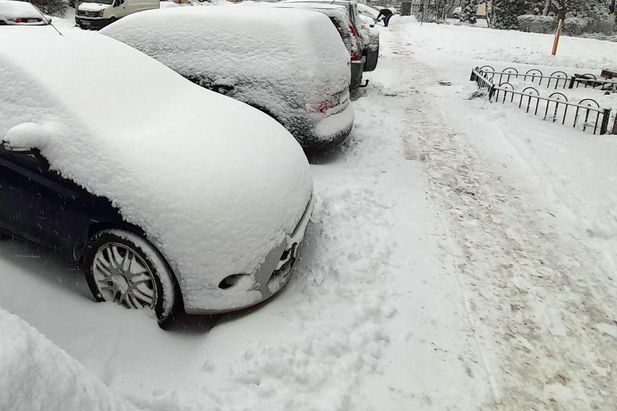 Kościerzyna wydała na zimowe utrzymanie dróg już dwukrotnie więcej, niż przed rokiem