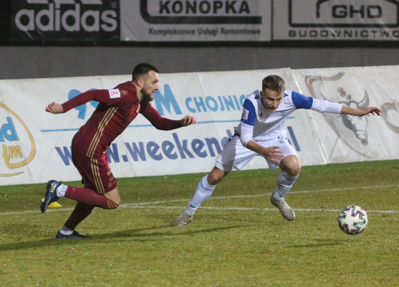 Chojniczanka w czwartek powalczy o awans do ćwierćfinału Pucharu Polski. Zagra z ekstraklasowym Zagłębiem.