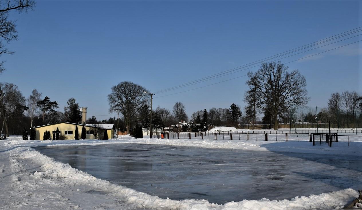 Na stadionie miejskim w Sępólnie Krajeńskim jednak będzie w tym roku lodowisko